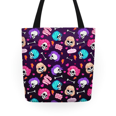 Spooky Scary Feminists Tote