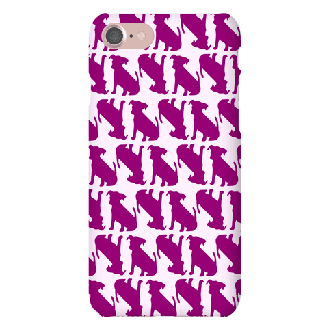 Puppy Pattern Phone Case