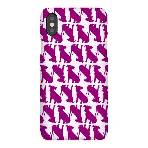 Puppy Pattern Phone Case