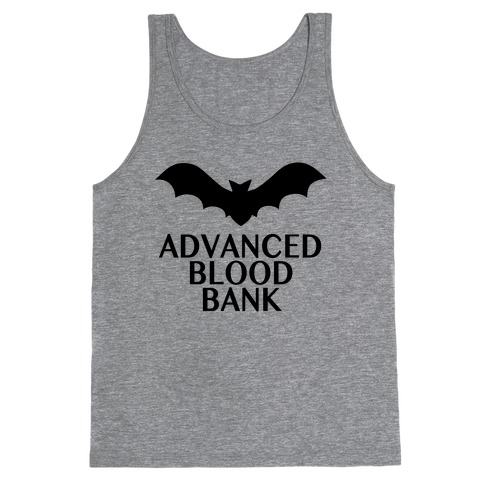 Vampire Advanced Blood Bank Tank Top