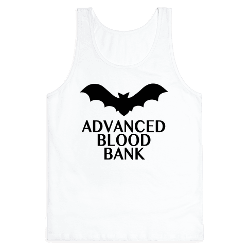 Vampire Advanced Blood Bank Tank Top