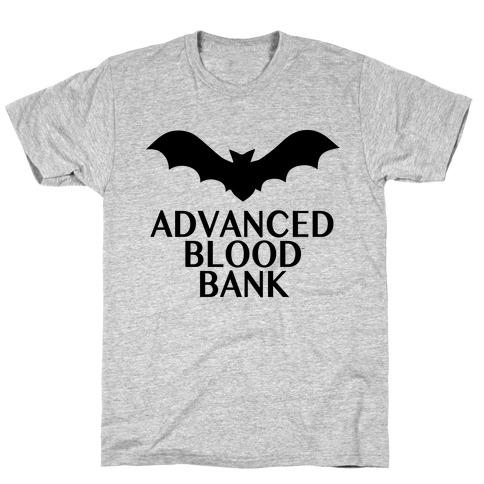 Vampire Advanced Blood Bank T-Shirt