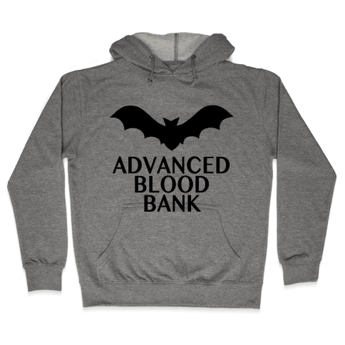 Vampire Advanced Blood Bank Hooded Sweatshirt