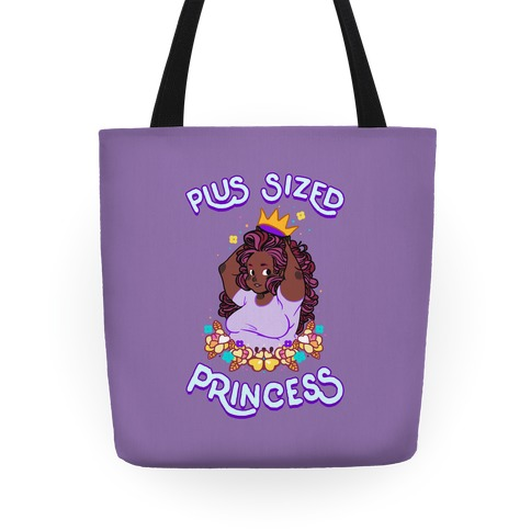Plus Sized Princess Tote