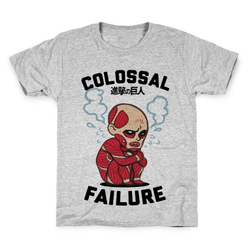 Colossal Failure Parody Kids T-Shirt