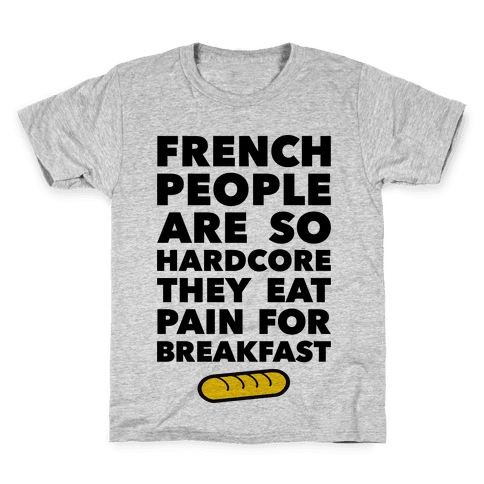 Pain For Breakfast Kids T-Shirt