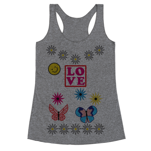 Willow's Ugly Pink Sweater Racerback Tank Top