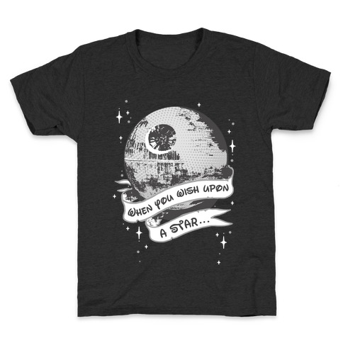 When You Wish Upon A Death Star Kids T-Shirt