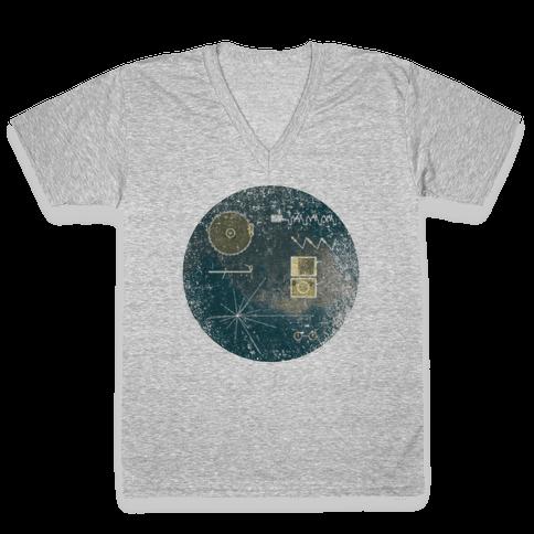 Sounds Of Earth V-Neck Tee Shirt