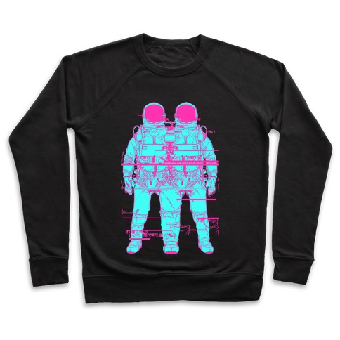 Twin Astronaut Glitch Pullover