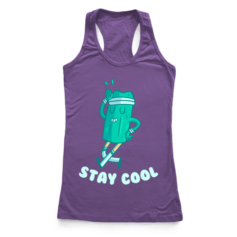 Stay Cool Racerback Tank Top