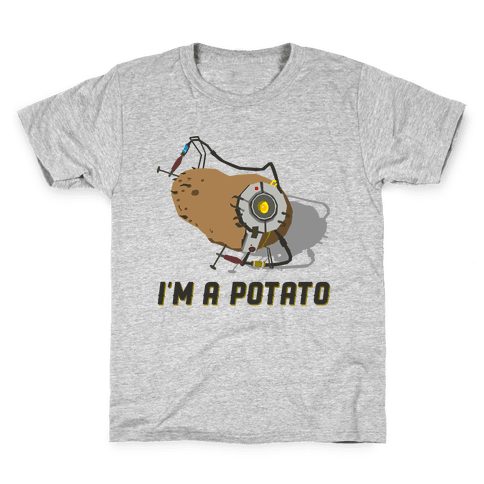 GLaDOS Potato Kids T-Shirt