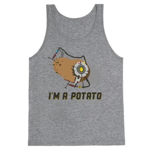 GLaDOS Potato Tank Top