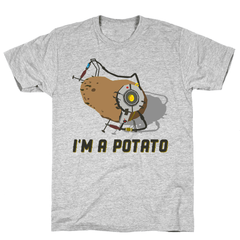 GLaDOS Potato Mens T-Shirt