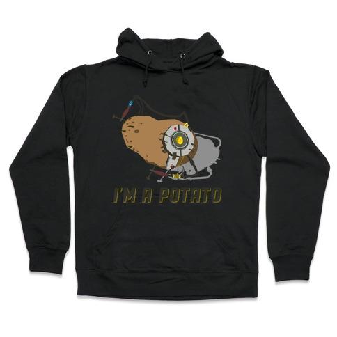 GLaDOS Potato Hooded Sweatshirt