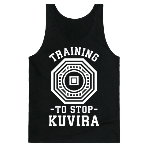 Training to Stop Kuvira Tank Top