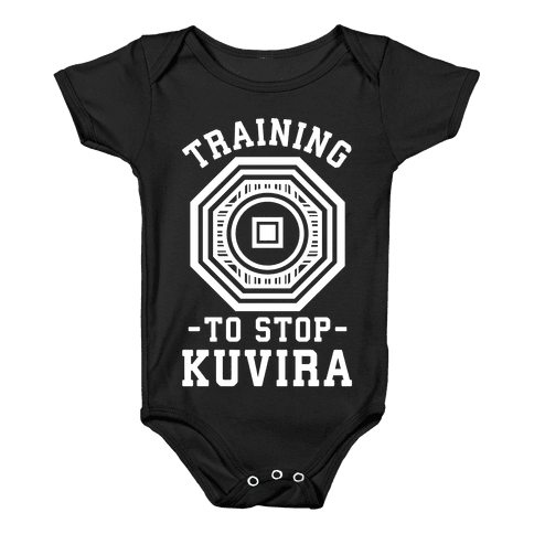 Training to Stop Kuvira Baby Onesy