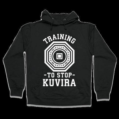 Training to Stop Kuvira Hooded Sweatshirt