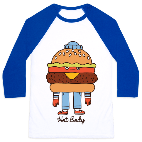 Hot Body Baseball Tee
