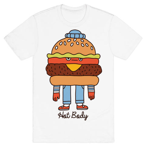 Hot Body Mens T-Shirt