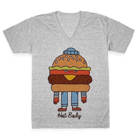 Hot Body V-Neck Tee Shirt