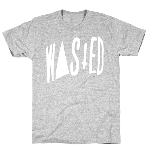 Wasted Mens T-Shirt
