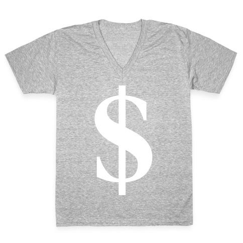 Cash V-Neck Tee Shirt