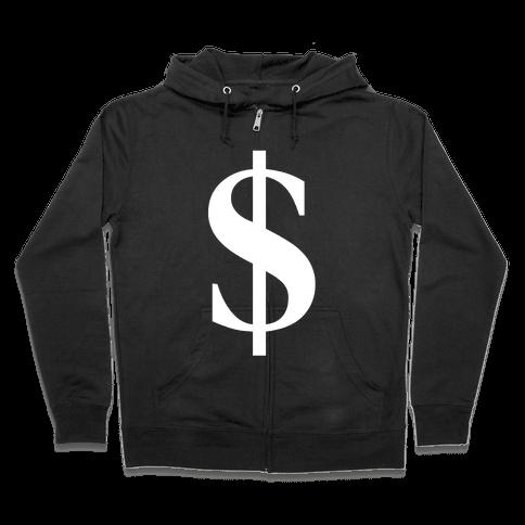 Cash Zip Hoodie
