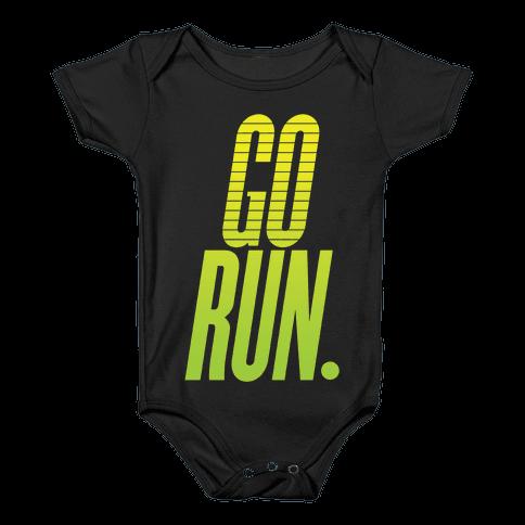 Go Run Baby Onesy