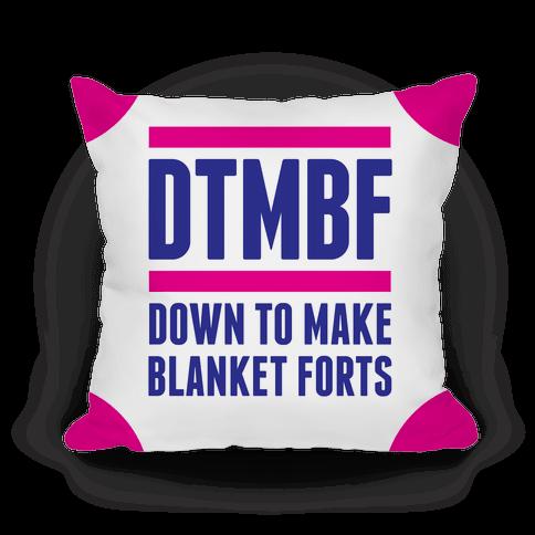DTMBF Pillow
