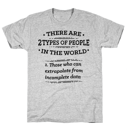 There Are Two Types Of People In The World  Mens T-Shirt