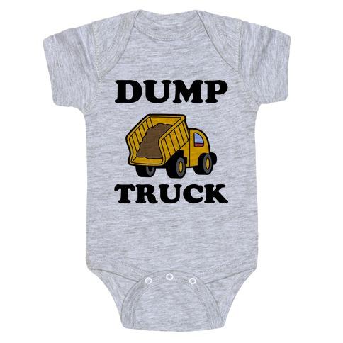 Dump Truck Baby Onesy