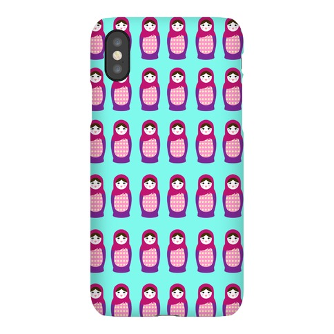 Cute Nesting Doll Pattern Phone Case