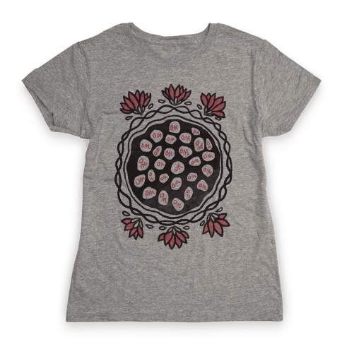 Om Lotus Womens T-Shirt