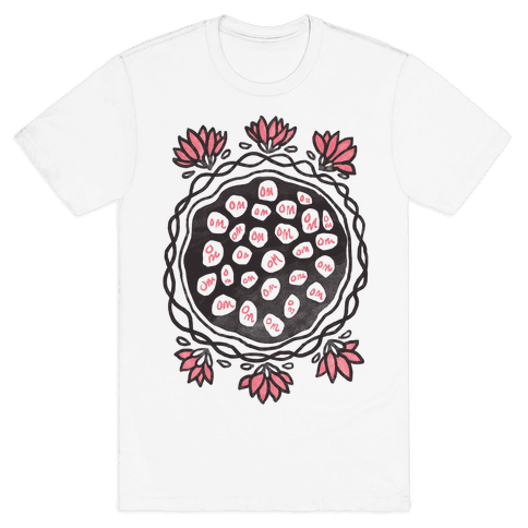 Om Lotus Mens T-Shirt
