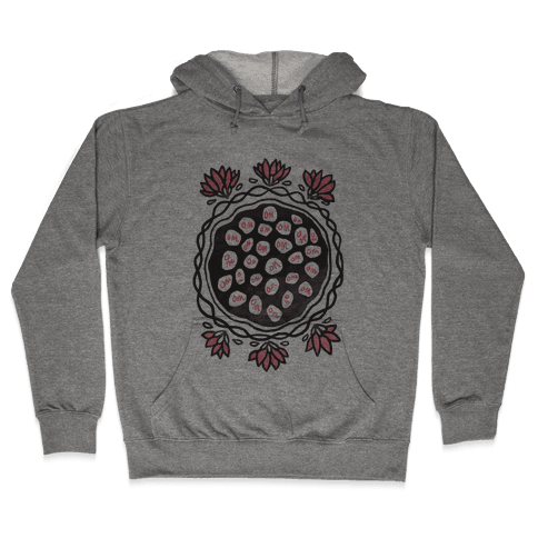 Om Lotus Hooded Sweatshirt