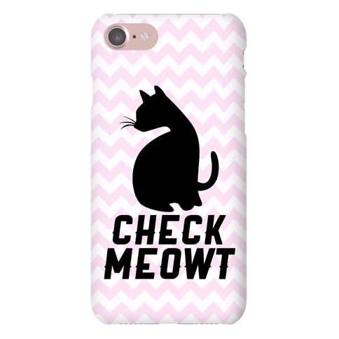 Check Meowt Phone Case