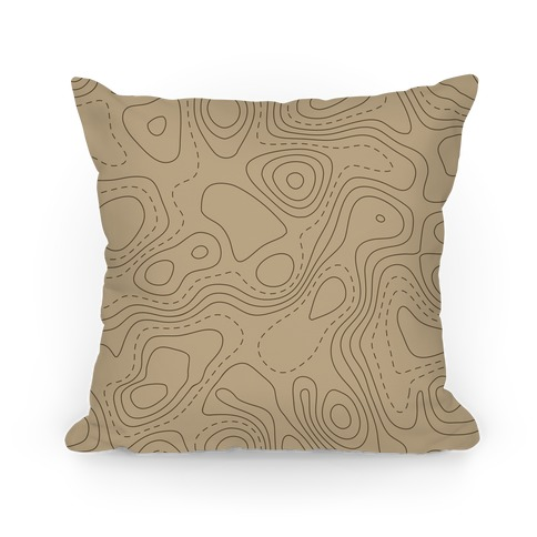 Topographic Map Pattern