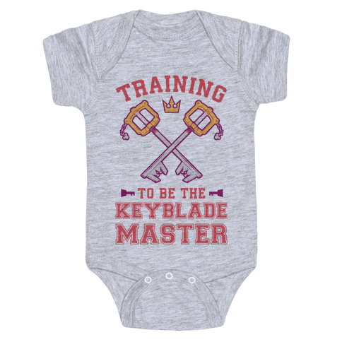 Training To Be The Keyblade Master Baby Onesy