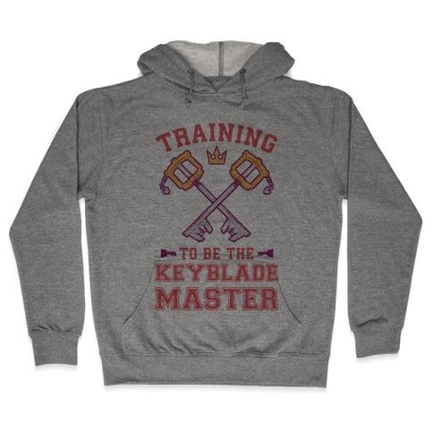 Training To Be The Keyblade Master Hooded Sweatshirt