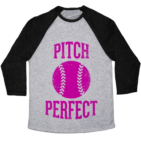 Pitch Perfect Baseball Tee