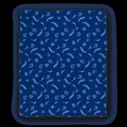 Don't Panic Blanket Blanket