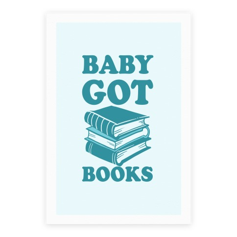 Baby Got Books Poster