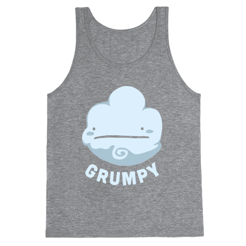 Sun & Grumpy Cloud (Part 1) Tank Top