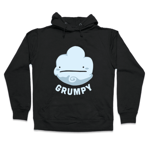 Sun & Grumpy Cloud (Part 1) Hooded Sweatshirt