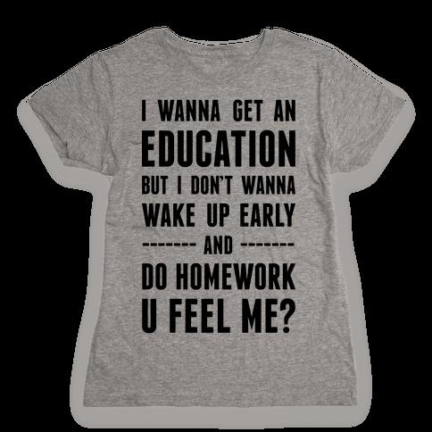 Education Womens T-Shirt