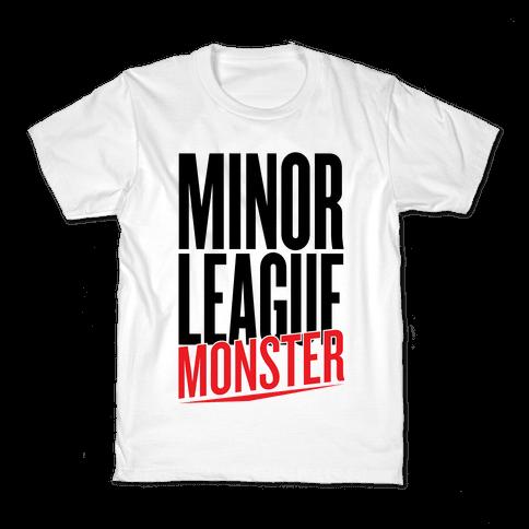 Minor League Monster Kids T-Shirt