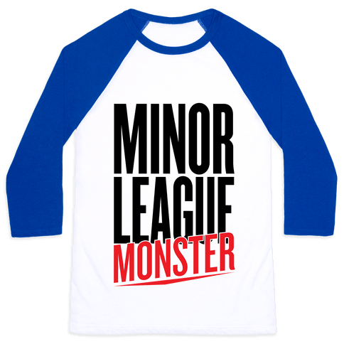 Minor League Monster Baseball Tee