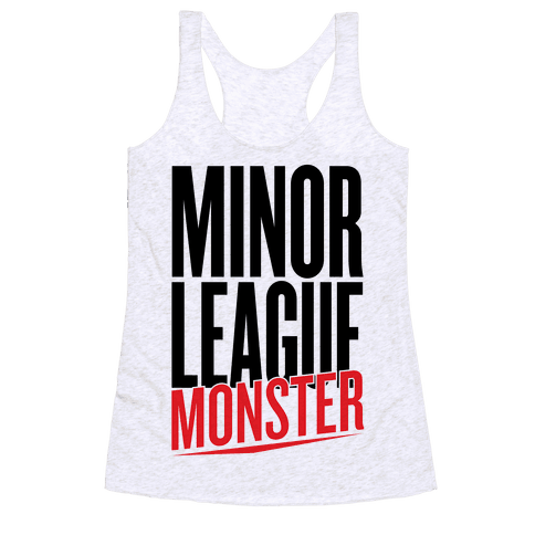 Minor League Monster Racerback Tank Top