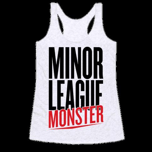 Minor League Monster Racerback Tank Top